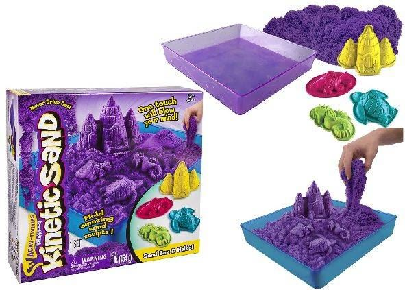 Spin Master Kinetic Sand Beach Box 454 gram