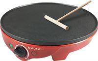 Beper BT.700Y pannenkoekmaker rood