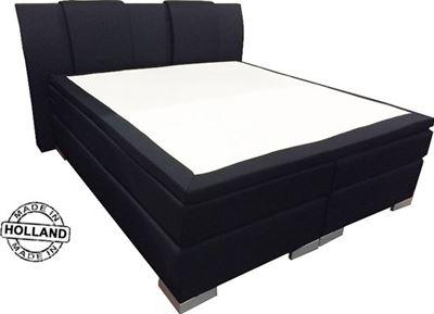 Zwart Bed 140x200.Slaaploods Nl Zeus Boxspring Inclusief Matras 140x200 Cm Zwart