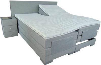 Boxspring Matras 90x210 : Slaaploods cool elektrische boxspring inclusief matras