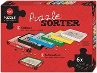 Heye Puzzel Sorteerder set voor 6 boxen 80590