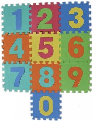Fordig Speelkleed Puzzelmat Speelmat Speeltapijt 10 Delig