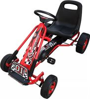 vidaXL Skelter F1 Junior rood