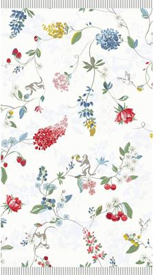 33d19ab92b8 PIP studio Hummingbirds Washandje - 16x22 - Star White