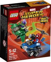 lego Super Heroes Mighty Micros: Spider-Man vs Green Goblin 76064