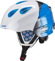 Alpina Grap 2.0 skihelm Kinderen blauw/wit 54-57 cm 2018 Ski & Snowboard helmen