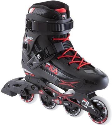 ea6267b86ab7 Fila Inline Skates Houdini Heren Zwart rood Maat 46