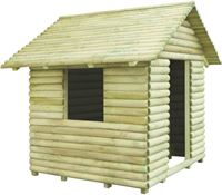 vidaXL Speelhuis geïmpregneerd grenenhout 167x150x151 cm