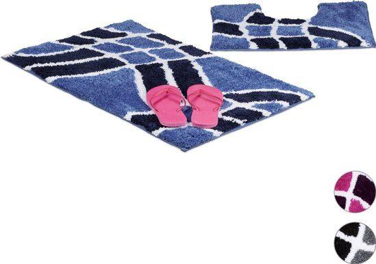 Goedkope Badkamer Matten : Relaxdays badmatten kieskeurig
