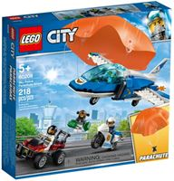 lego City 60208 Luchtpolitie parachute-arrestatie 218-delig