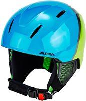 Alpina Carat LX skihelm Kinderen groen/blauw 51-55 cm 2018 Ski & Snowboard helmen