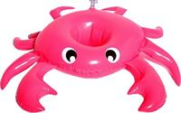 Swim Essentials Opblaasbare Rode Krab Bekerhouders 3 Stuks