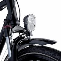 Axa Echo 30 Steady LED Koplamp Zwart
