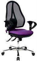 Topstar Bureaustoel Open Point® SY Deluxe Paars