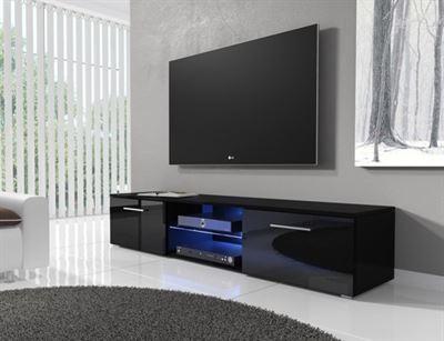 Meubella Tv Meubel Basura I Led Zwart 160 Cm Prijzen