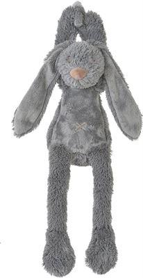 ec0f7623378a7f Happy Horse Deep Grey Rabbit Richie Musical knuffel 34 cm