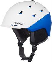 Sinner Stoneham - Skihelm - Volwassenen - 57-58 cm / M - Wit/Blauw