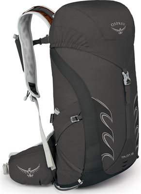 615bb400369 Osprey Talon 18 rugzak Heren zwart S/M 2018 Trekking- & Wandelrugzakken