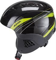 Alpina Carat Helm Kinderen groen/zwart 48-52 cm 2018 Ski & Snowboard helmen