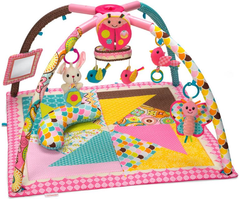 Infantino Deluxe Twist en Fold Speelkleed Girl