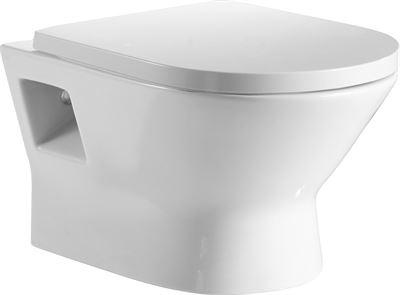 Toilet Zonder Spoelrand : Toilet voorlichtingsburo wonen