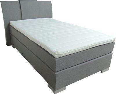 Bed Kopen 1 Persoons.Slaaploods Nl Zeus Boxspring Inclusief Matras 80x200 Cm