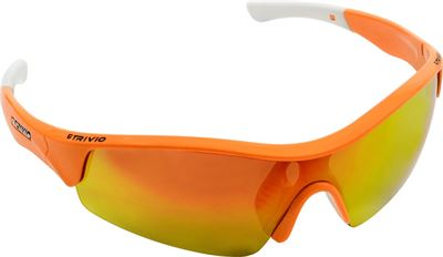 ff894ee647f3b3 Trivio Vento - sportbril met 2 extra lenzen - fluo orange