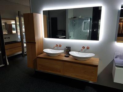 Sanisupply badkamermeubel neuer wood top 160 cm kopen? kieskeurig