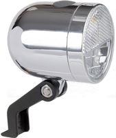 Ikzi light Ikzi Nero Retro - Koplamp - Led - Batterij - Chroom