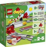 lego DUPLO Treinrails - 10882 Maak de coolste treinrails in de stad voor jouw trein