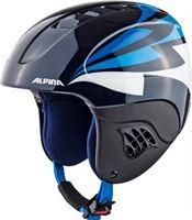 Alpina Carat Helm Kinderen blauwzwart 48 52 cm 2018 Ski Snowboard helmen