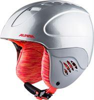 Alpina Carat Helm Kinderen zilver 51-55cm 2018 Ski & Snowboard helmen