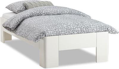 Bed Kopen 1 Persoons.Select Bed Fresh 400 Met Lattenbodem En Matras 1 Persoons Kopen