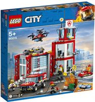 lego City 60215 Brandweerkazerne 509-delig