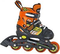 Tempish Swist Inline Skates Junior Zwart/oranje Maat 30/33