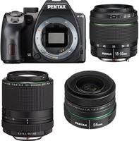 Pentax K-70 Zwart + 18-55mm WR + 55-300mm RE PLM + 35mm F2.4