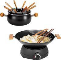 Domoclip fondue en elektrische wok
