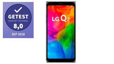 LG Q7 – getest door het testpanel