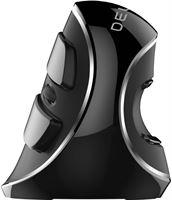 Delux grip mouse Plus draadloze rechtshandige ergonomische muis