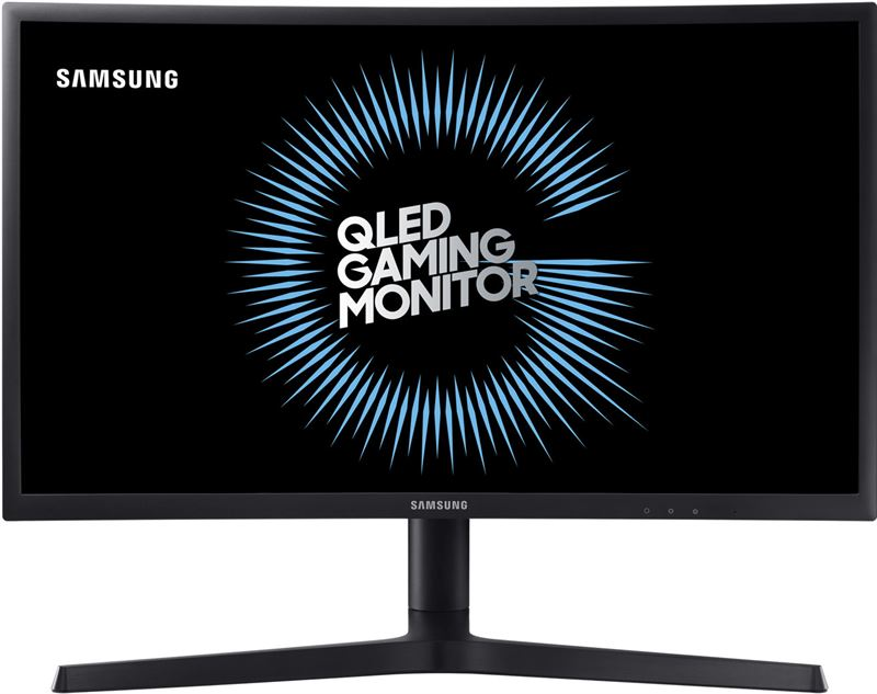 Samsung Curved QLED Gaming Monitor 24 inch LC24FG73FQU