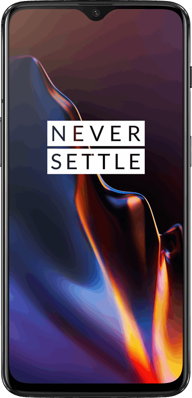 OnePlus 6T 128 GB / mirror black / (dualsim)