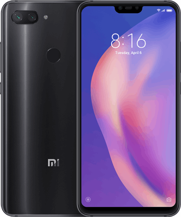 Xiaomi Mi 8 lite 64 GB / midnight black / (dualsim)