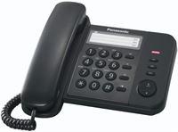 Panasonic KX-TS520GB telefoon DECT-telefoon Zwart
