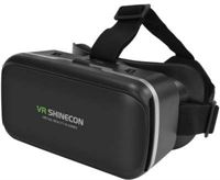 VR SHINECON IMAX Screen Virtual Reality Bril - 4 tot 6 inch smartphones - Black