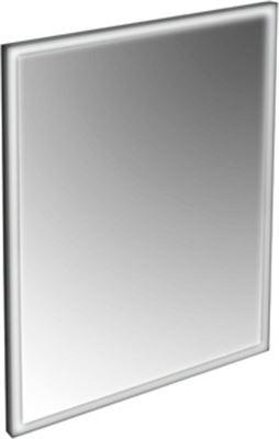 Spiegel Zwarte Lijst.Plieger Raya Nero Spiegel Met Led Verlichting Rondom 140x65cm M Zwarte Lijst 0800311