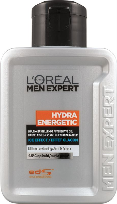 L'Oréal Hydra Energetic Men Expert Hydra Energetic Ice Effect - 100ml - Aftershave gel