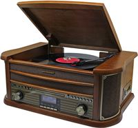Soundmaster Nostalgisch Muziek Center met DAB+ en bluetooth