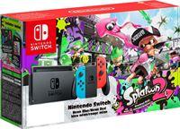 Nintendo Switch neon + Splatoon 2