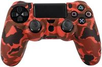 Sure-Global Collect PS4 Controller Silicone Skin/Hoes Playstation 4 - Camouflage Rood