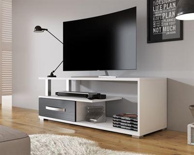 Tv Kast Zwart Wit.Meubella Tv Meubel Axel Wit Zwart 118 Cm Kast Kopen